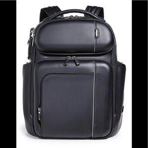 Tumi Mens Arrive Barker Backpack NWT $1200